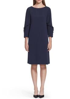 Lafayette 148 New York Abigail Finesse Crepe Dress