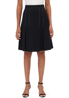Lafayette 148 New York Abra Nouveau Crepe Skirt