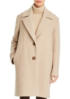 Lafayette 148 New York Acadia Textured Wool Coat