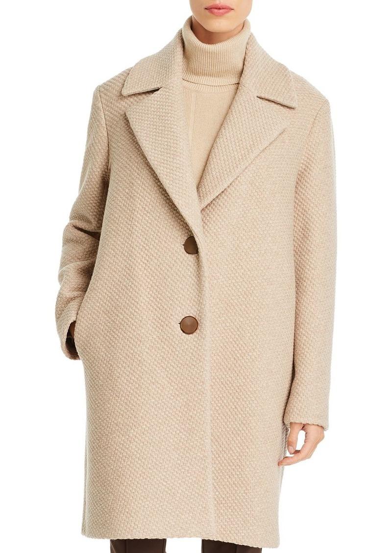 Lafayette 148 New York Acadia Textured Wool Coat