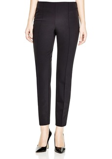 Lafayette 148 New York Acclaimed Stretch Slim Pintuck City Pants