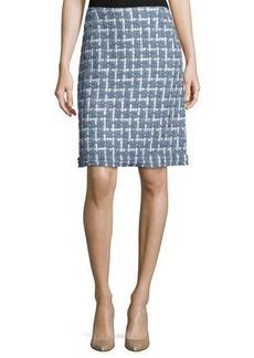 Lafayette 148 New York Adalyn Tweed Pencil Skirt