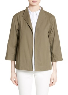 Lafayette 148 New York Adam Stretch Cotton Jacket