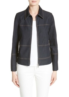 Lafayette 148 New York Adaya Primo Denim Jacket