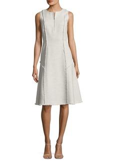 Adrian Tweed A-Line Dress