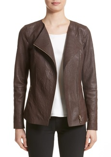 Lafayette 148 New York Aimes Leather Jacket