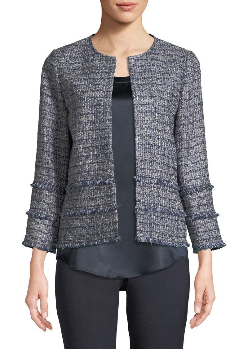 Lafayette 148 New York Aisha Exhibition Tweed Jacket