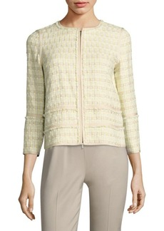 Lafayette 148 New York Aisha Tweed Jacket