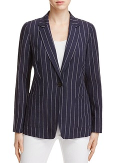 Lafayette 148 New York Alba Linen Jacket