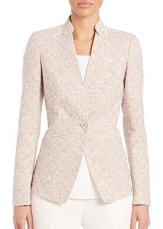 Lafayette 148 Alexa Terr Weave Jacket
