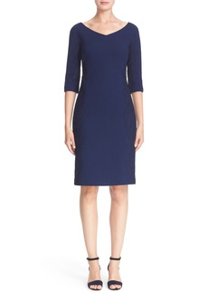Lafayette 148 New York 'Alexia' Nouveau Crepe Dress