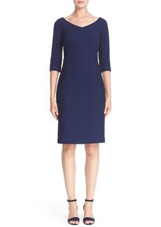 Lafayette 148 New York 'Alexia' Nouveau Crepe Dress