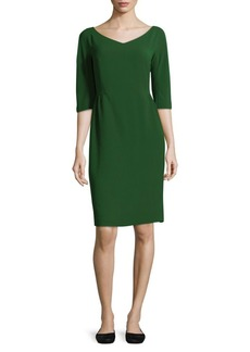 Lafayette 148 New York Alexia V-neck Dress