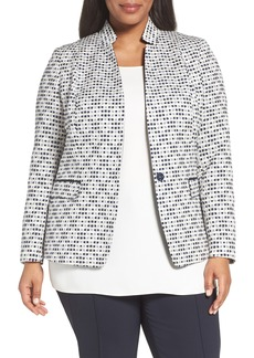 Lafayette 148 New York Alexis Woven Jacket (Plus Size)