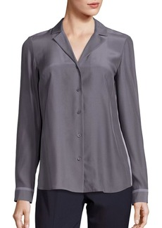 Lafayette 148 New York Alicia Silk Blouse