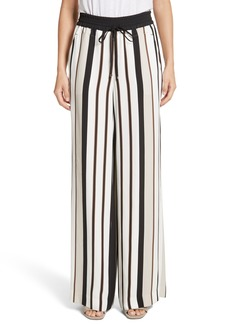 Lafayette 148 New York Allen Legacy Stripe Drape Cloth Pants