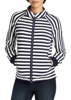 Lafayette 148 New York Allison Stripe Jacket