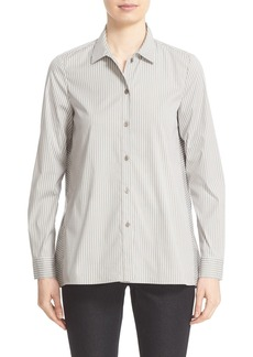 Lafayette 148 New York 'Alondra' Middleton Stripe Blouse