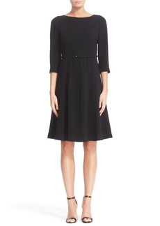 Lafayette 148 New York Amalie Finesse Crepe Dress