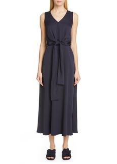 Lafayette 148 New York Ambrosia Tie Waist Midi Dress