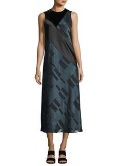 Lafayette 148 New York Andora Sleeveless Midi Dress