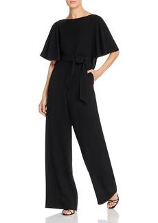 Lafayette 148 New York Annette Flounce-Sleeve Jumpsuit