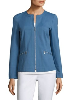 Lafayette 148 New York Arian Collarless Jacket