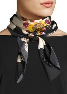 Lafayette 148 New York Artful Floral Silk Scarf