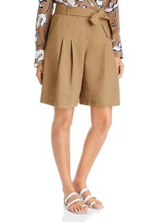 Lafayette 148 New York Arthur Pleated Shorts