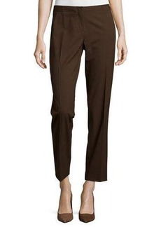 Lafayette 148 New York Astor Straight-Leg Ankle-Crop Pants