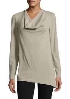 Lafayette 148 New York Asymmetrical Pullover
