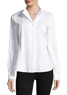 Lafayette 148 New York Audrey Button-Up Top