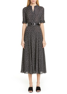 Lafayette 148 New York Augustina Piazza Print Dress
