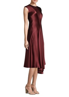 Lafayette 148 New York Aveena Silk Knee-Length Dress