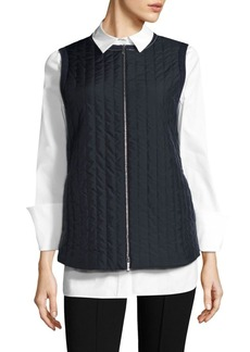 Lafayette 148 New York Bailey Quilted Vest