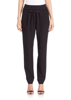 Lafayette 148 New York Barclay Knit-Waist Pants
