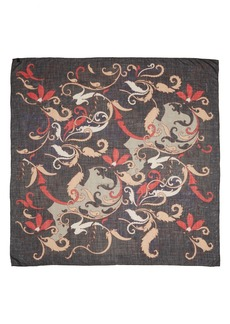 Lafayette 148 New York 'Baroque Blooms' Print Scarf (Nordstrom Exclusive)