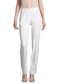 Lafayette 148 New York Barrow Solid Straight-Fit Pants