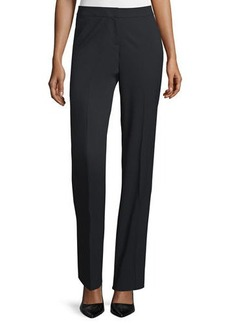 Lafayette 148 New York Barrow Stretch-Wool Suiting Pants