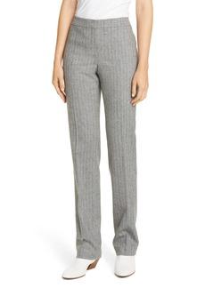 Lafayette 148 New York Barrow Wool Blend Herringbone Pants