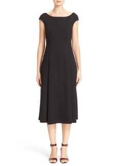 Lafayette 148 New York Bateau Neck Dress