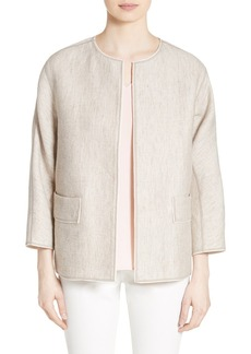 Lafayette 148 New York Beatriz Cotton & Linen Jacket