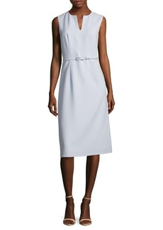 Lafayette 148 Belted Shift Dress