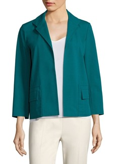 Lafayette 148 New York Benny Open-Front Jacket