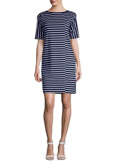 Lafayette 148 Bibi Stripe Shift Dress