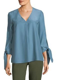 Blair Tie Sleeve Blouse