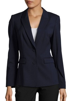 Lafayette 148 New York Blake Virgin Wool Blend Blazer