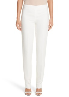 Lafayette 148 New York 'Bleecker - Finesse Crepe' Pants (Regular & Petite)