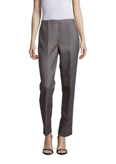 Lafayette 148 New York Bleecker Cotton-Blend Pants