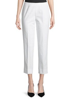 Lafayette 148 Metro Stretch Lexington Cropped Pants